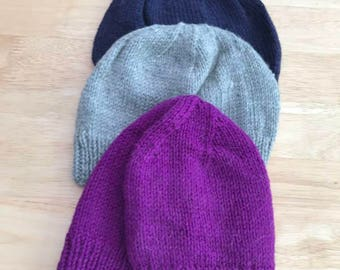 Stretchy Adult-sized Wooly Hat