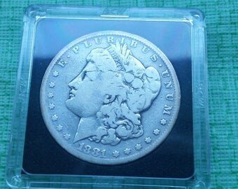 1881-s Morgan  Silver dollar  VF details
