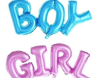 Boy Balloon, Girl Balloon, Gender Reveal Balloons, Baby Shower Balloons, Cute Balloons, Pink Balloons, Blue Balloons, Party Balloons