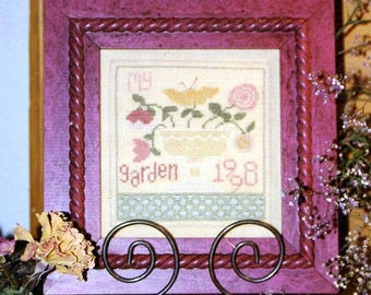 1/2 Price My Garden by Ewe, Eye & Friends Counted Cross Stitch Pattern/Chart