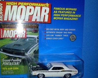High Performance Mopar 1970 AAR Cuda new on card