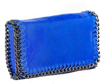 February Sale Italian leather shoulder/clutch bag