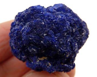Azurite | Azurite Crystal | Raw Azurite | Chessylite | Raw Chessylite | Azurite Crystal Cluster | Russia | 33 grams