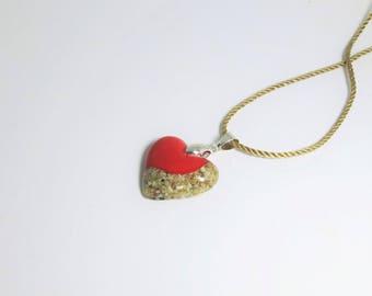 "Necklace Sand, Collar ""Heart II """