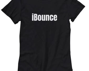 iBounce - Funny Trampolining Gift - Trampoline Women's Tee