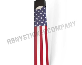 Skin Decal Wrap for JUUL American Flag Wrap