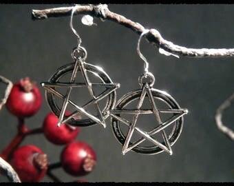 Pentagram-Earrings