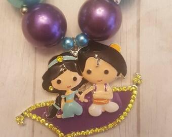 Inspired Jasmine and Aladdin