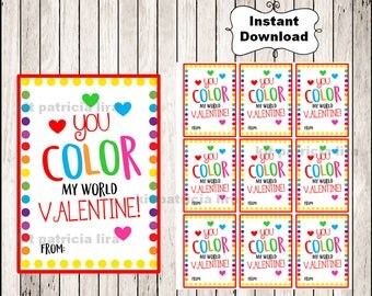 Roblox Valentine's Day Cards instant download Printable