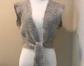 Wool vest sweater