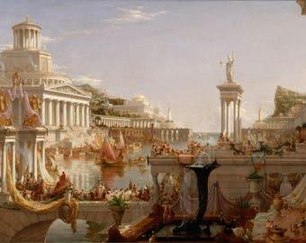 Thomas Cole - Course of Empire - Consummation of Empire - Art Print - 11x17