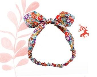 Headband baby / child Liberty® multicolored Michelle