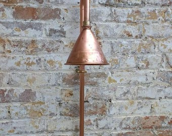 Copper pipe Shower