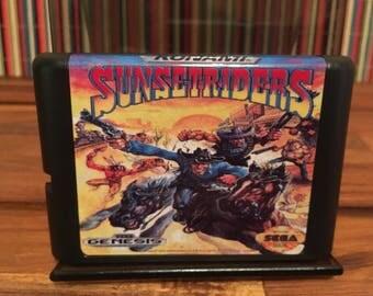 Sega Genesis Sunset Riders Reproduction Repro!