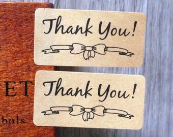 "Tags/labels 36 piece set ""Thank you"" number (1)"