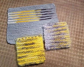 Dishcloth and Scrubbies