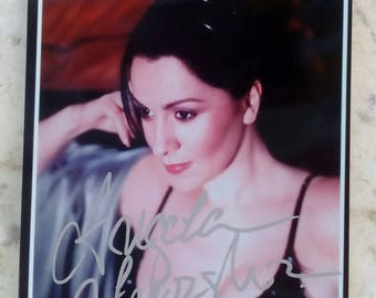 Signed Photograph of Angela Gheorghiu