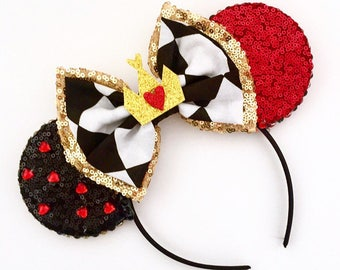 The Queen - Handmade Mouse Ears Headband