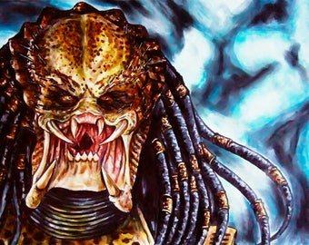 more predator markers drawing ink on a3 paper