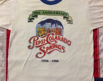 1986 50th anniversary Pepsi Tee medium