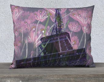 Eiffel Tower Pillow Cases - You choose material