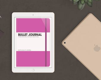 Pink Digital Bullet Journal for Goodnotes - iPad & iPhone