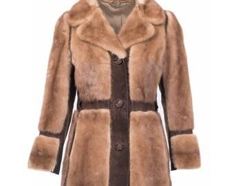 Vintage Saga mink fur jacket 70s