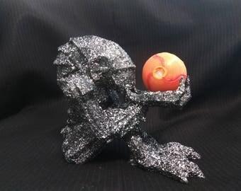 Chozo statue with morph ball