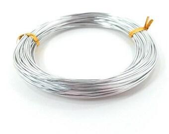 Aluminum 1 mm x 10 m silver creations