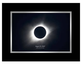 """2017 Solar Eclipse Wall Art 