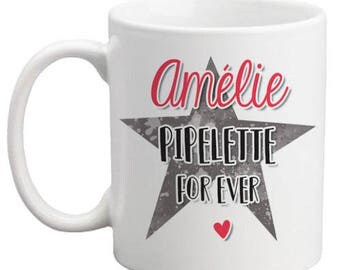Mug customisable Chatterbox For ever - gift personalized