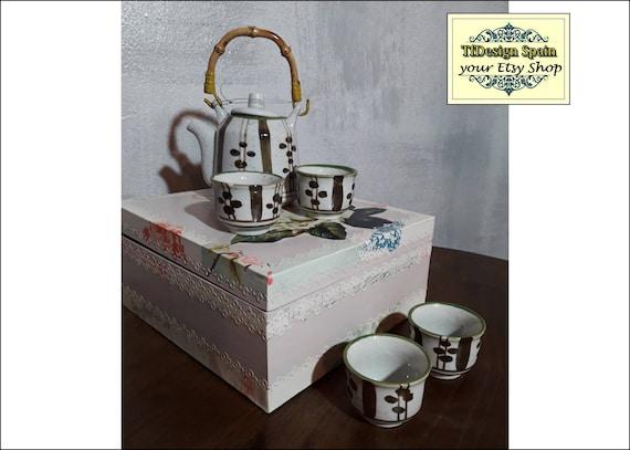 Juego de té, Juego de té de porcelana, Juego de té para regalar, Juego de té chino, Juego de té original, Juego de té comprar, Tazas de té