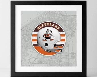 Vintage NFL: Cleveland Browns-inspired