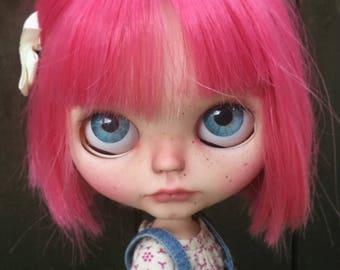 Peony, OOAK custom Blythe doll by Filipa Nóbrega
