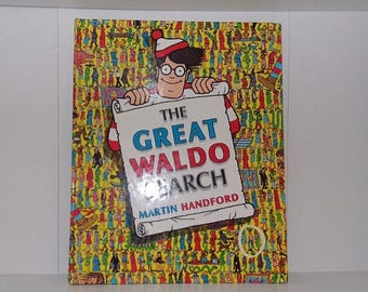 The Great Waldo Search * 1989 First Edition