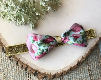 Girls headband featuring our Katherine bow
