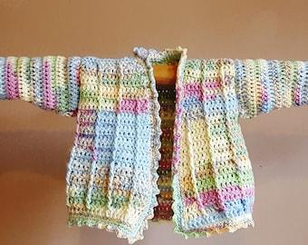 Crochet Baby Jacket Pattern
