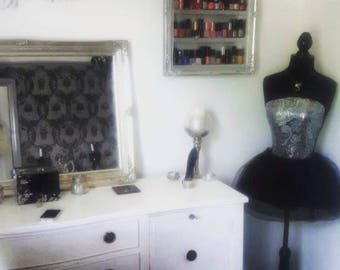 Nail polish rack storage shelf salon furniture