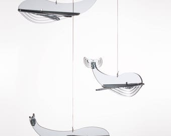 Whale Mobile,Baby Mobile Animals,Boy Nursery Mobile,Nursery Wall Mobile,Boy Baby Mobile,Baby Mobiles Hanging,Nursery Mobile,Baby Mobile,Crib