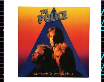 The Police - Zenyatta Mondatta LP Record, 1980 Vintage Vinyl Record Album, rock