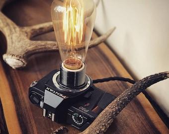 Pentax 35mm Camera Edison Light
