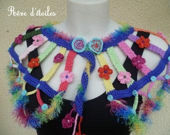 Beautiful fall candy crochet