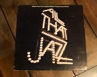 All That Jazz - Original Motion Picture Soundtrack - Vintage 1977 Vinyl Record - NRL P 7198
