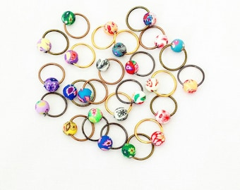 O-my o ring stitch marker set