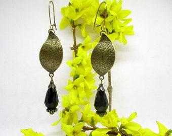 Port royal earrings will o BLACK.