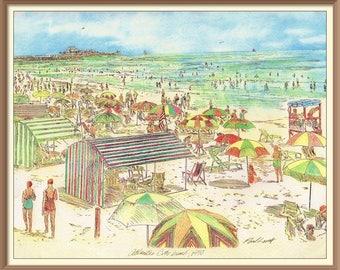 Marlborough Bleinheim Beach 1950