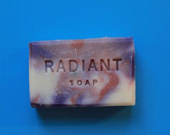Cranberry and Fig Cold Process Soap