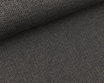 Hamburger Love Glam knit knit Anthracite mottled-black (23.90 EUR/meter)