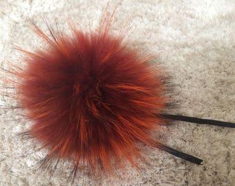 Genuine Fox Fur Pom Pom/ Real Fox Fur Pom Pom/ Ready to ship