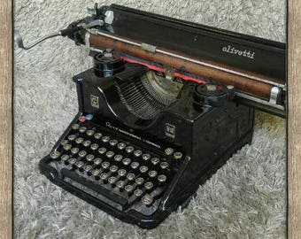 Olivetti M40 | Antique Typewriter | Italy 1940 | Extra Wide Carriage | Macchina da Cucire Antica | Working Condition | FREE Shipping*